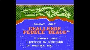 Bandai Golf: Challenge Pebble Beach (NES) Game Hub