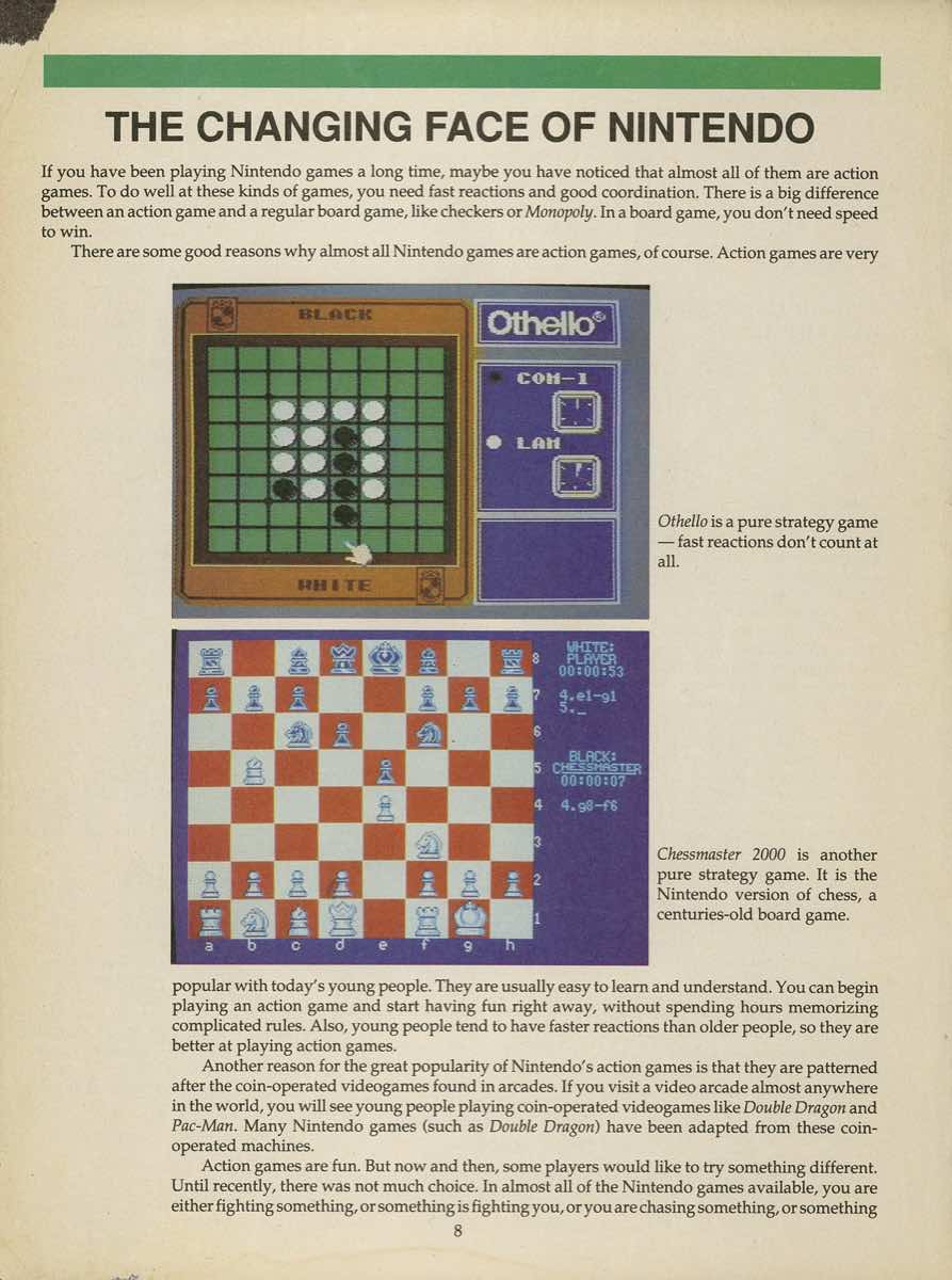Game Player's Strategy Guide to Nintendo Games Issue 2 Pg. 008