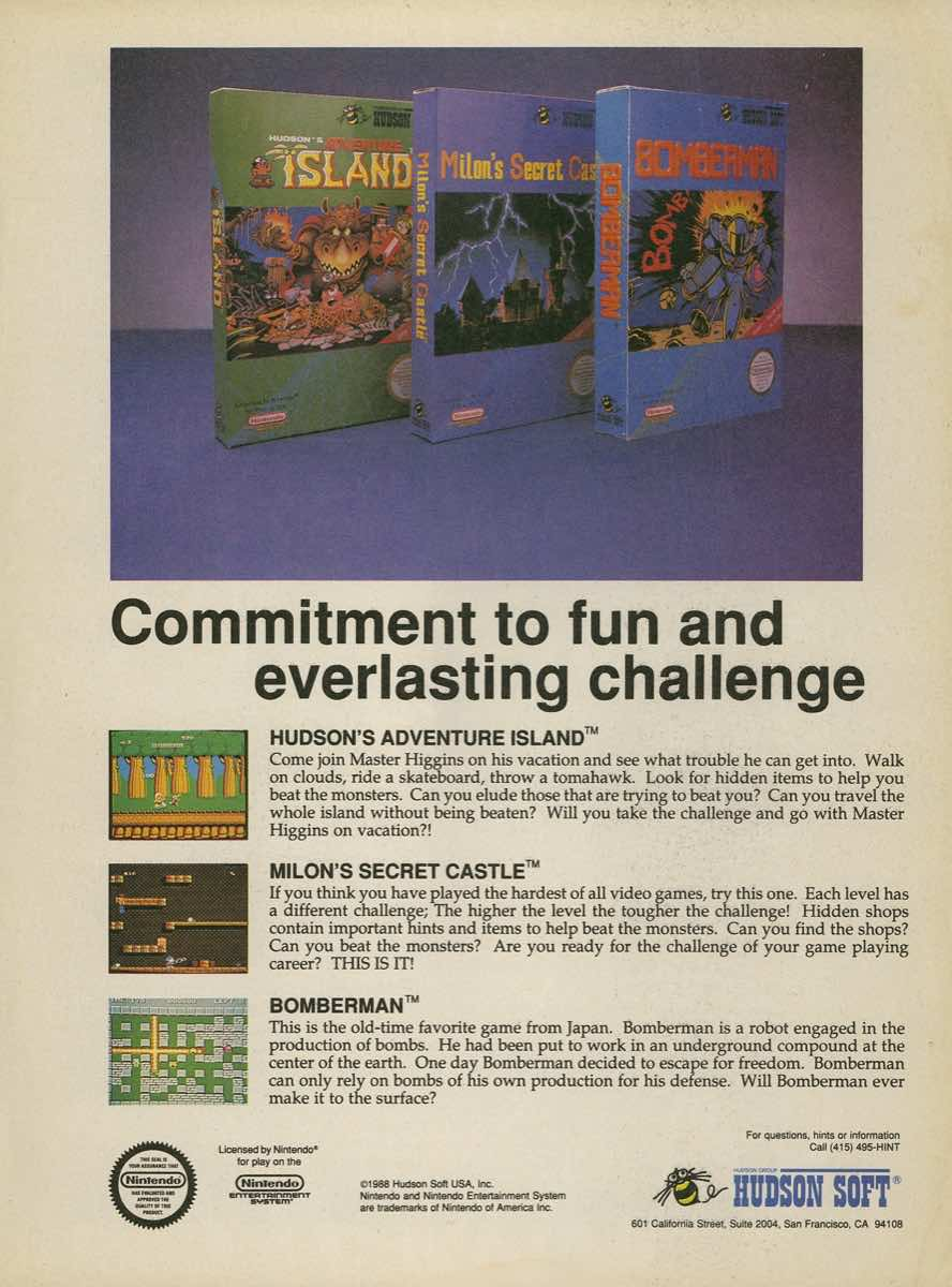 Game Player's Strategy Guide to Nintendo Games Issue 2 Pg. 011
