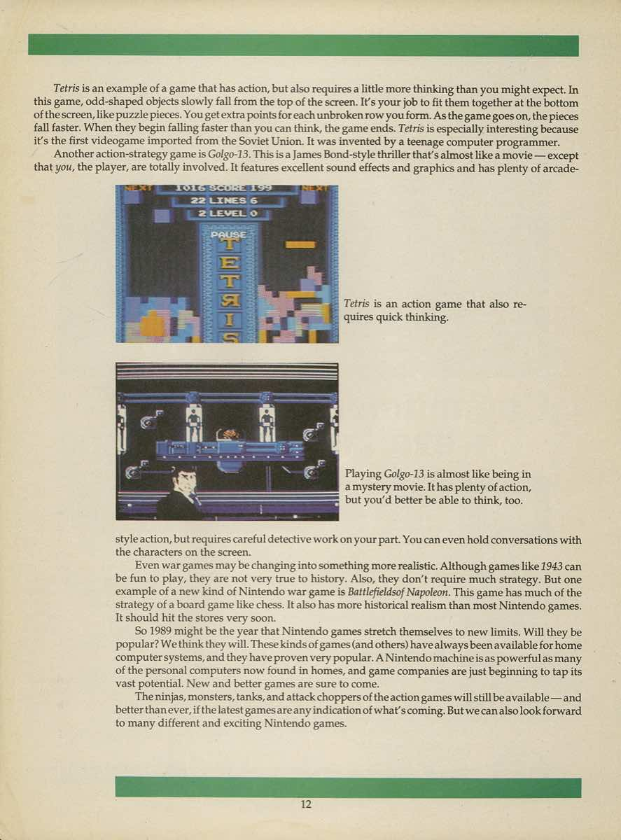 Game Player's Strategy Guide to Nintendo Games Issue 2 Pg. 012