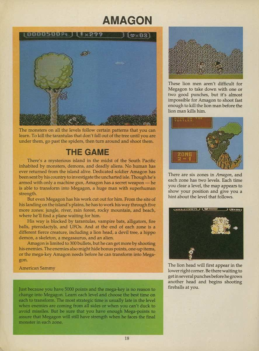 Game Player's Strategy Guide to Nintendo Games Issue 2 Pg. 018