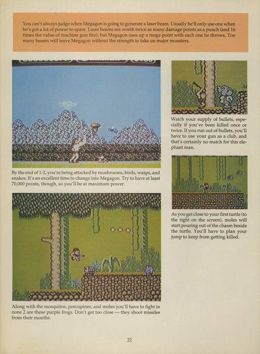 Game Player's Strategy Guide to Nintendo Games Issue 2 Pg. 022