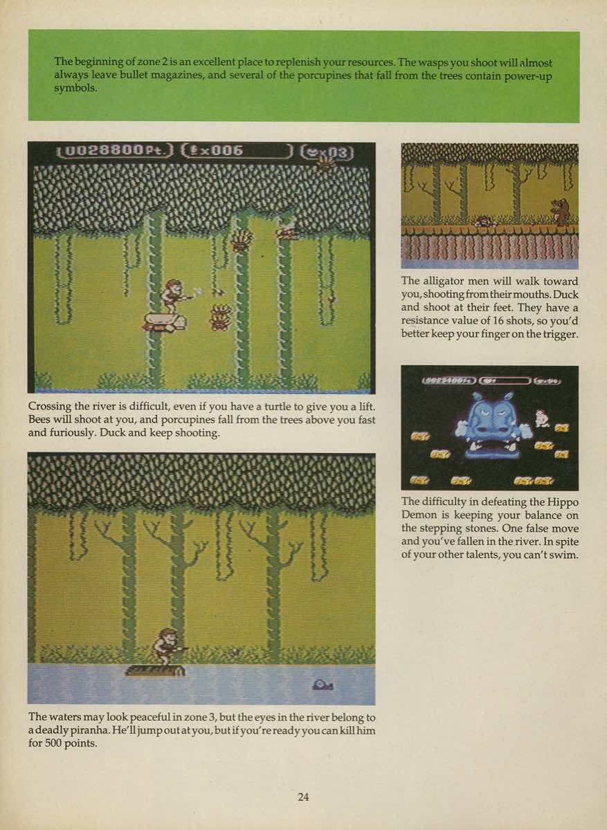Game Player's Strategy Guide to Nintendo Games Issue 2 Pg. 024
