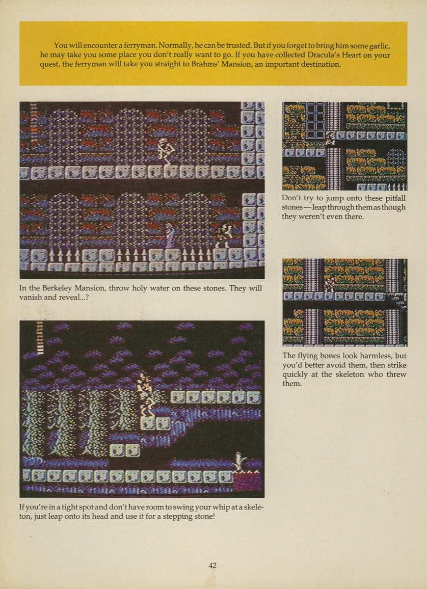 Game Player's Strategy Guide to Nintendo Games Issue 2 Pg. 042