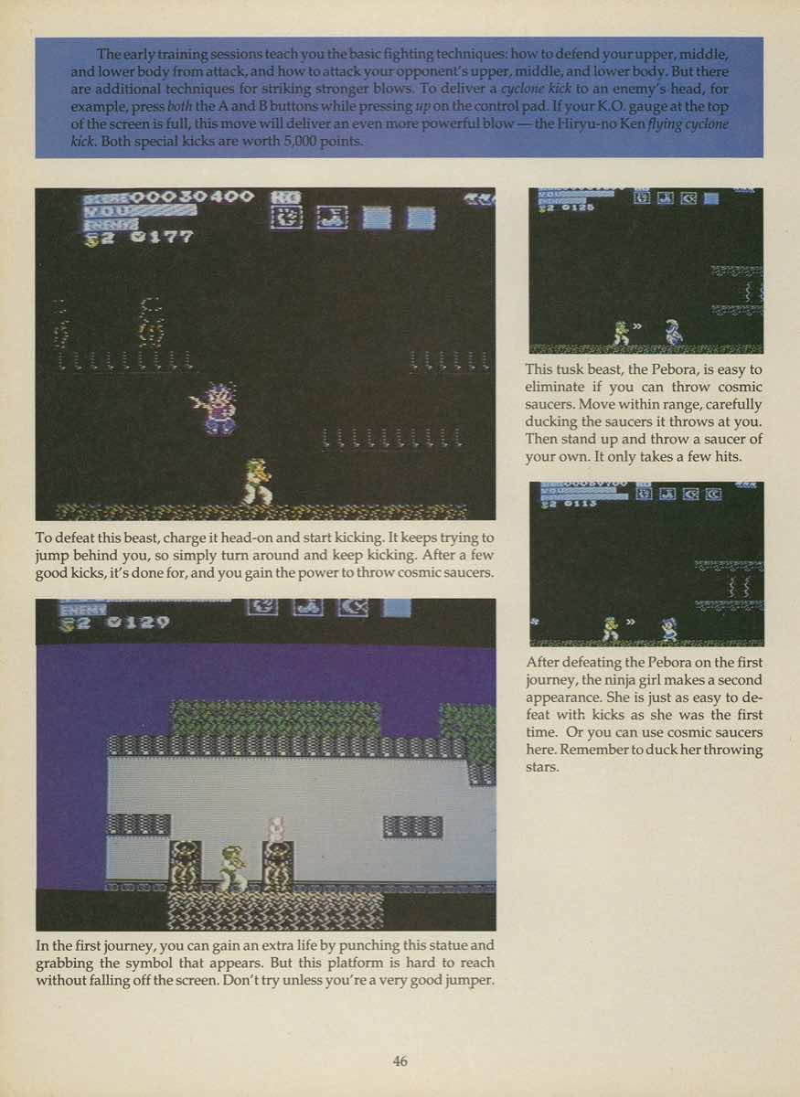 Game Player's Strategy Guide to Nintendo Games Issue 2 Pg. 046
