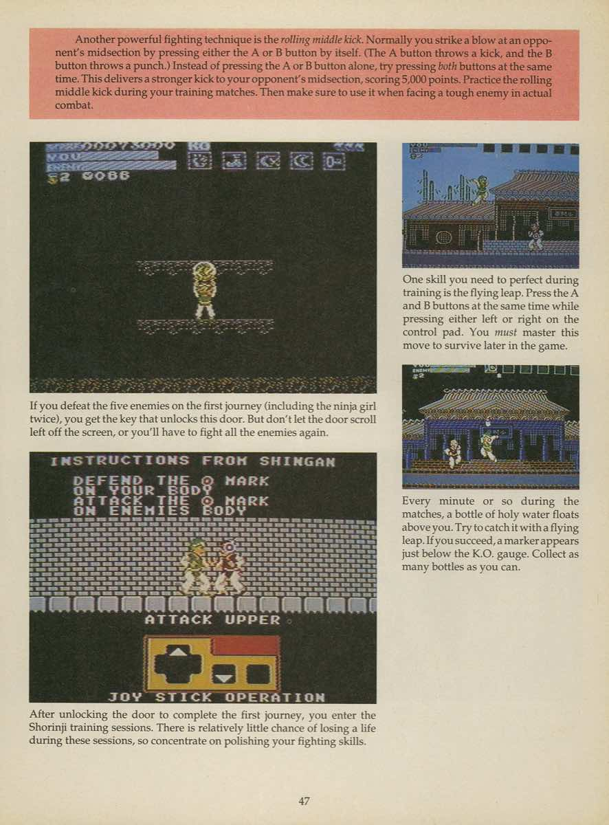 Game Player's Strategy Guide to Nintendo Games Issue 2 Pg. 047