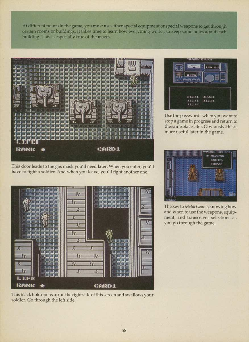 Game Player's Strategy Guide to Nintendo Games Issue 2 Pg. 058