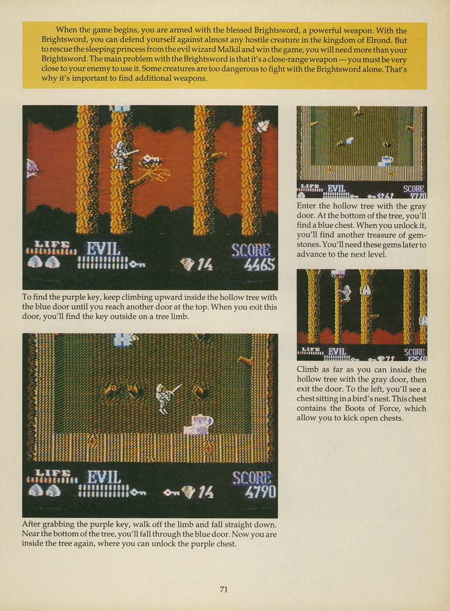 Game Player's Strategy Guide to Nintendo Games Issue 2 Pg. 071
