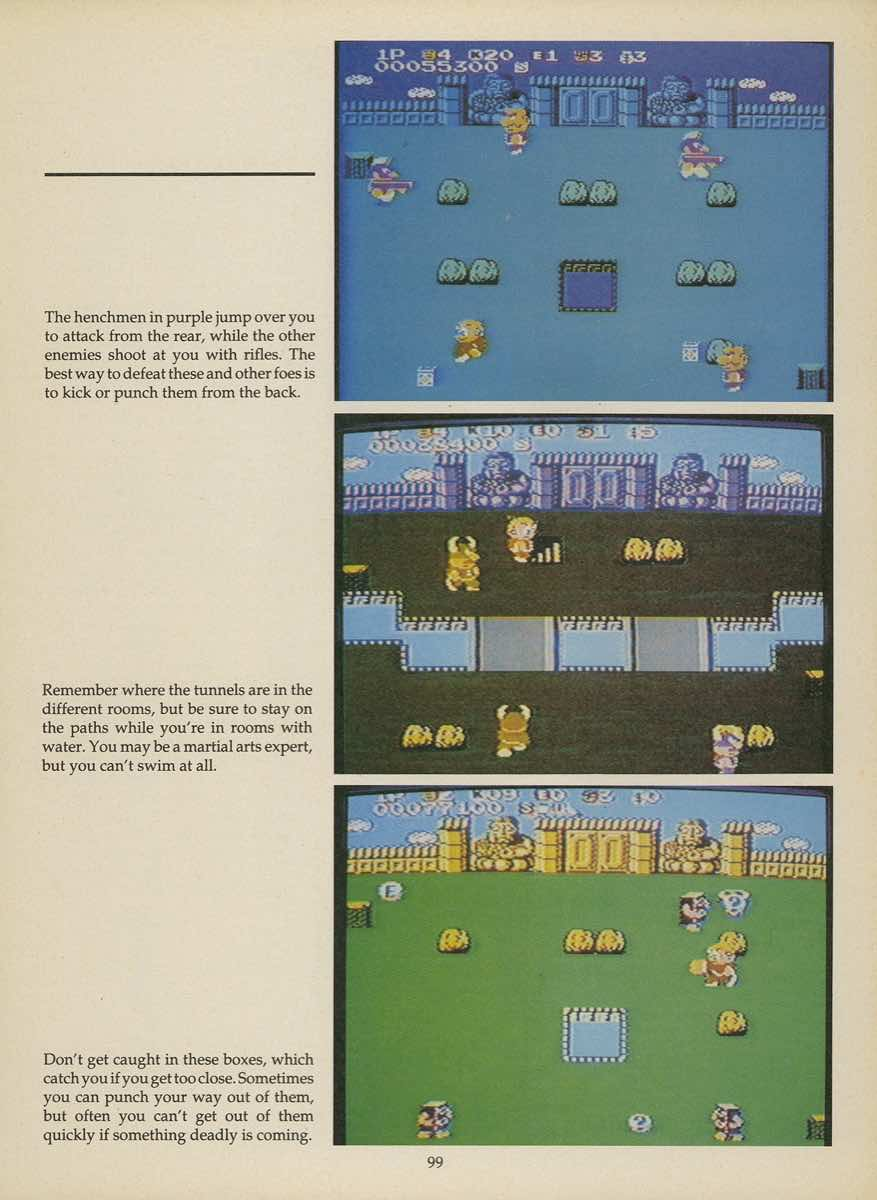 Game Player's Strategy Guide to Nintendo Games Issue 2 Pg. 099