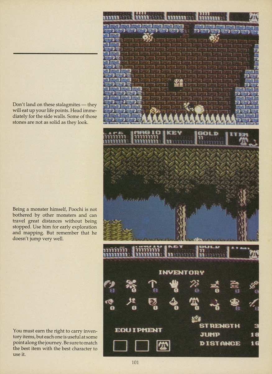 Game Player's Strategy Guide to Nintendo Games Issue 2 Pg. 101