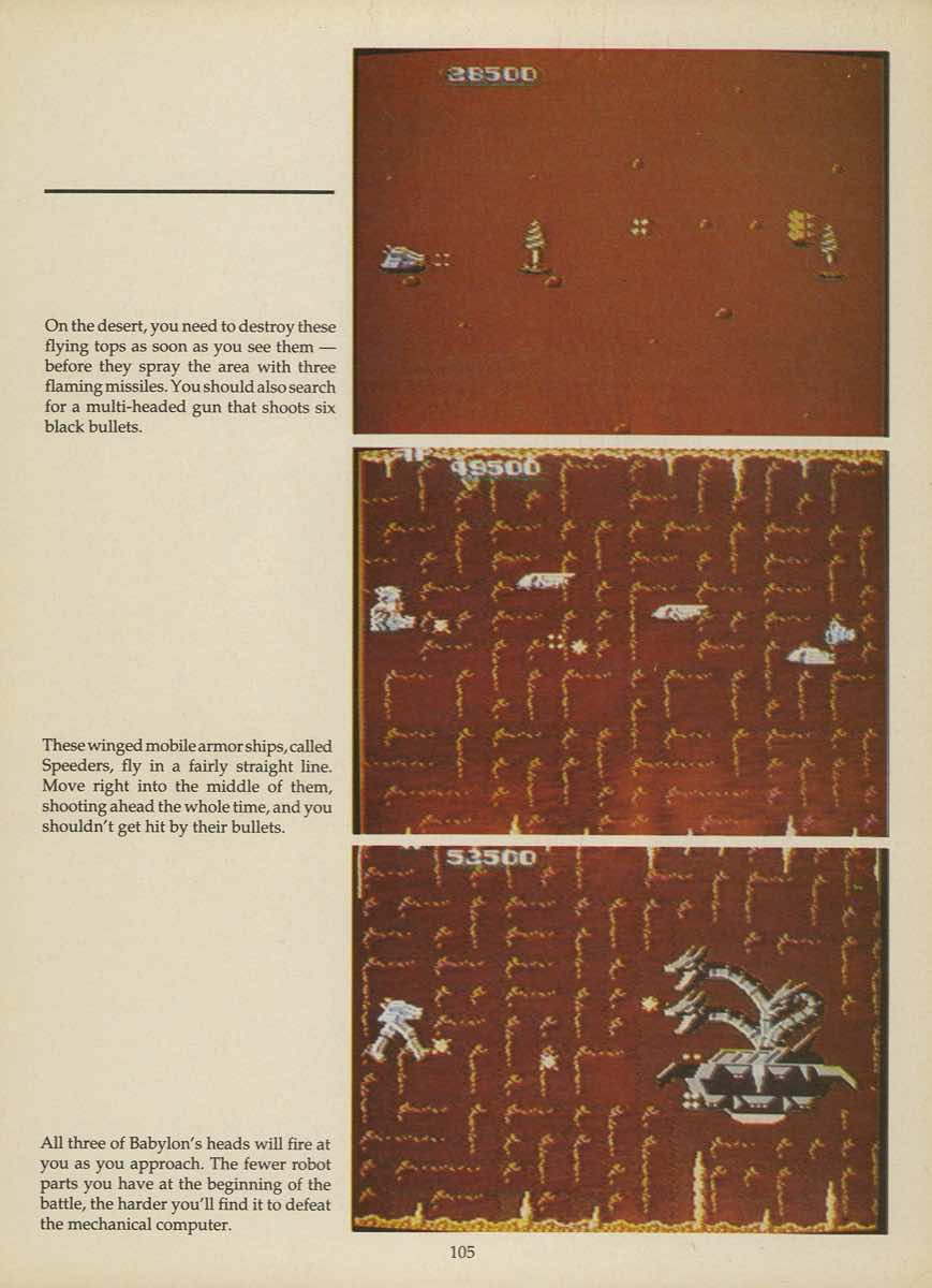 Game Player's Strategy Guide to Nintendo Games Issue 2 Pg. 105
