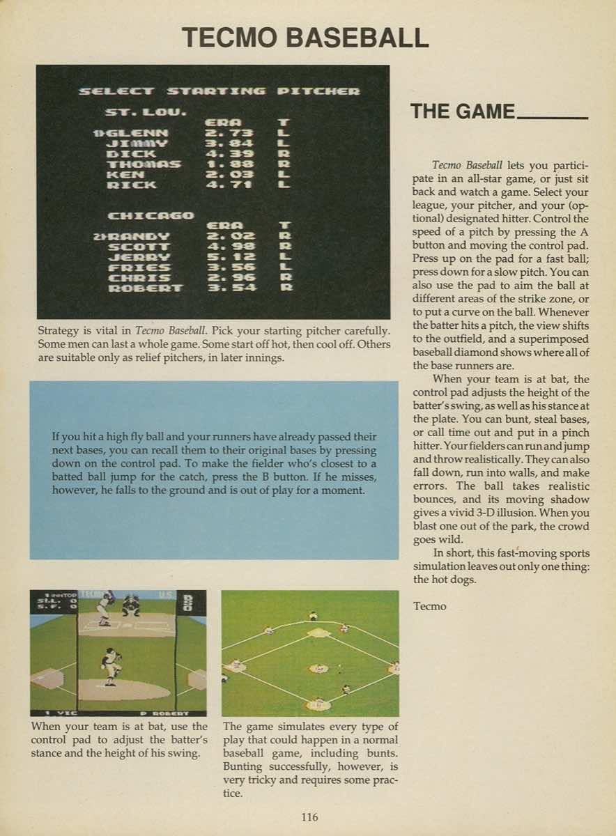 Game Player's Strategy Guide to Nintendo Games Issue 2 Pg. 116