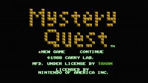 Mystery Quest (NES) Game Hub