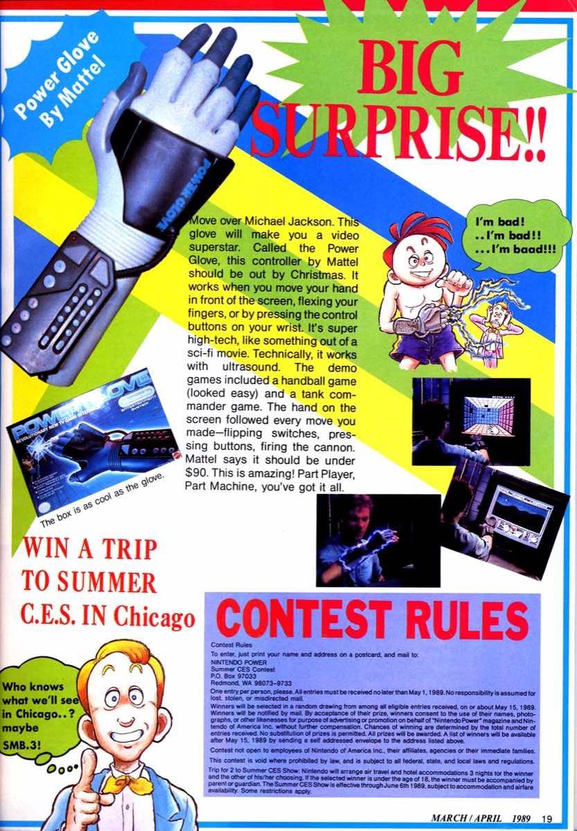 Nintendo Power   March April 1989 p019