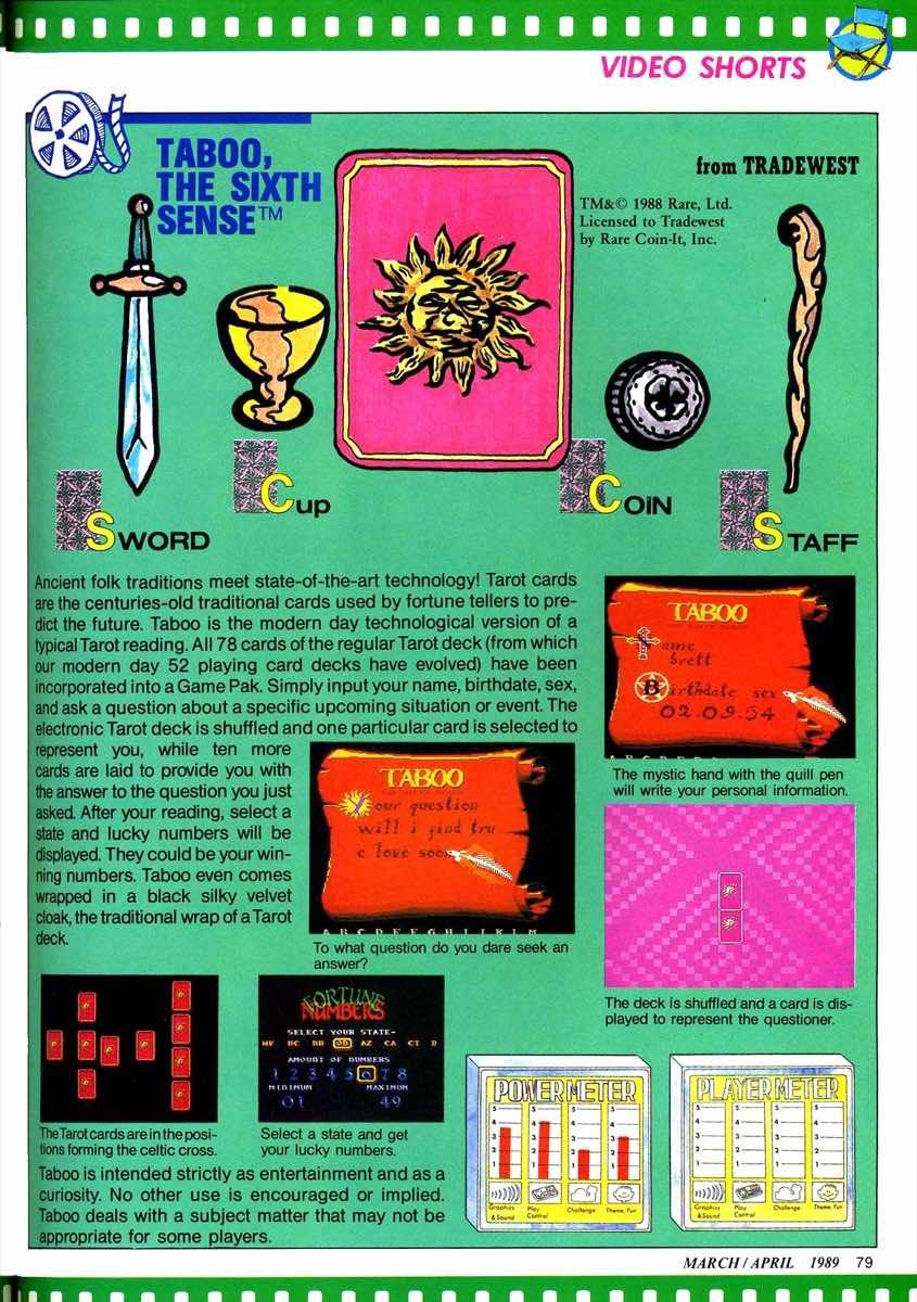 Nintendo Power | March April 1989 p079