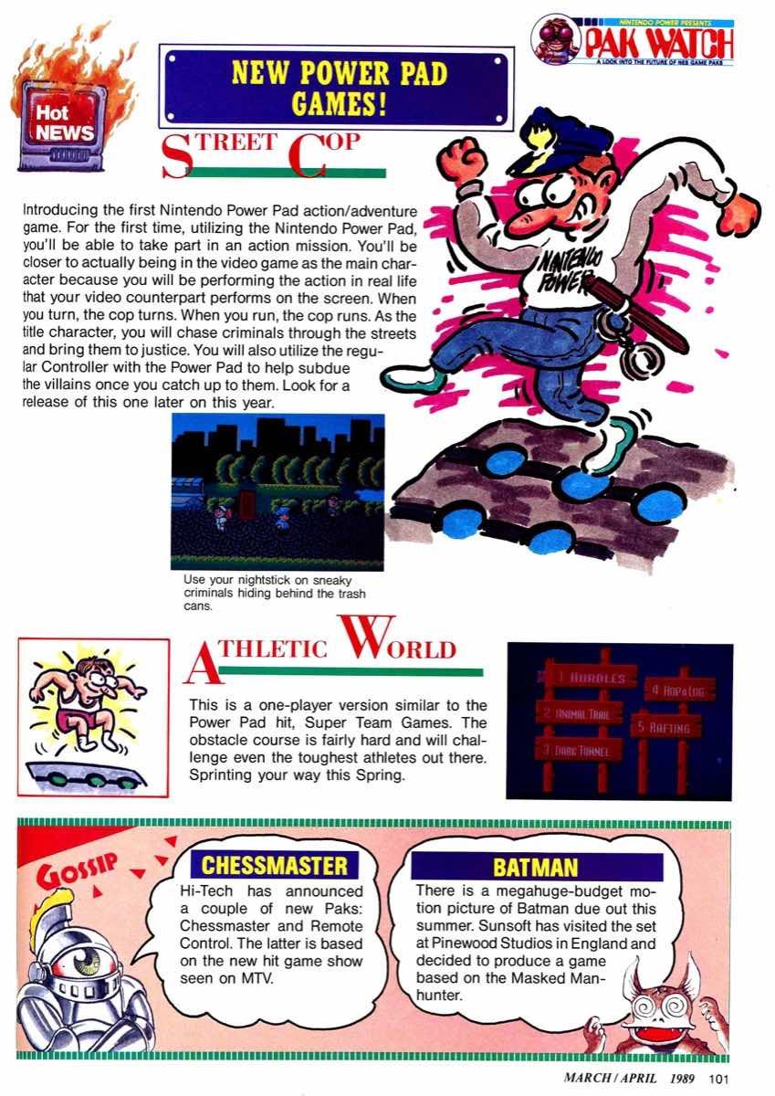 Nintendo Power | March April 1989 p101