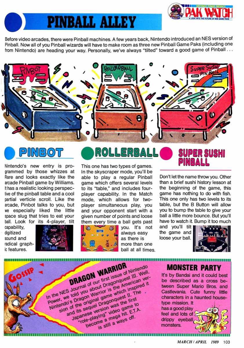 Nintendo Power | March April 1989 p103