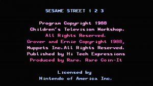 Sesame Street: 123 (NES) Game Hub