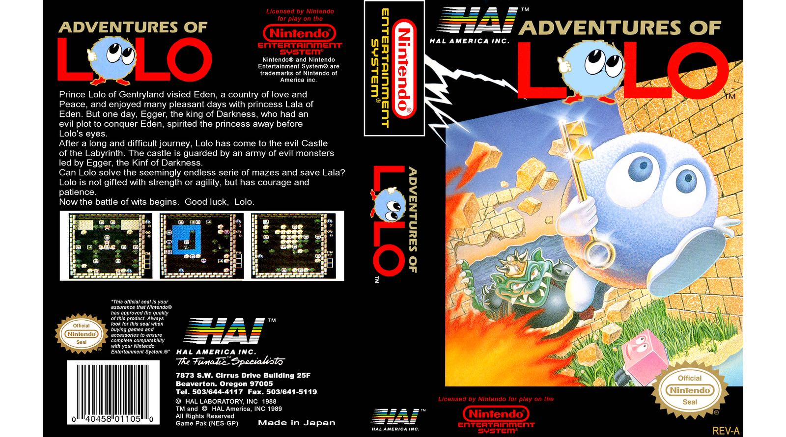 Adventures Of Lolo Review – Nintendo Times