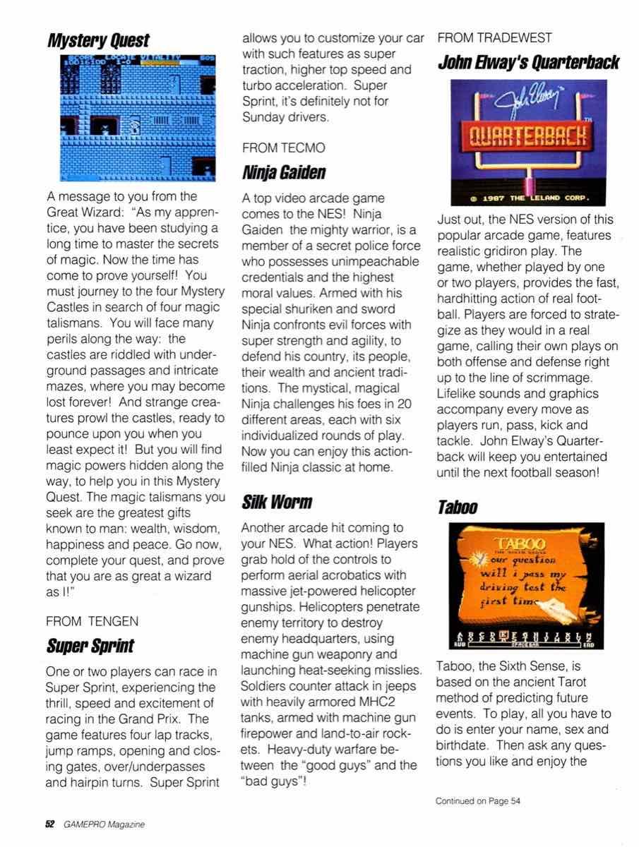 GamePro | May 1989 p52