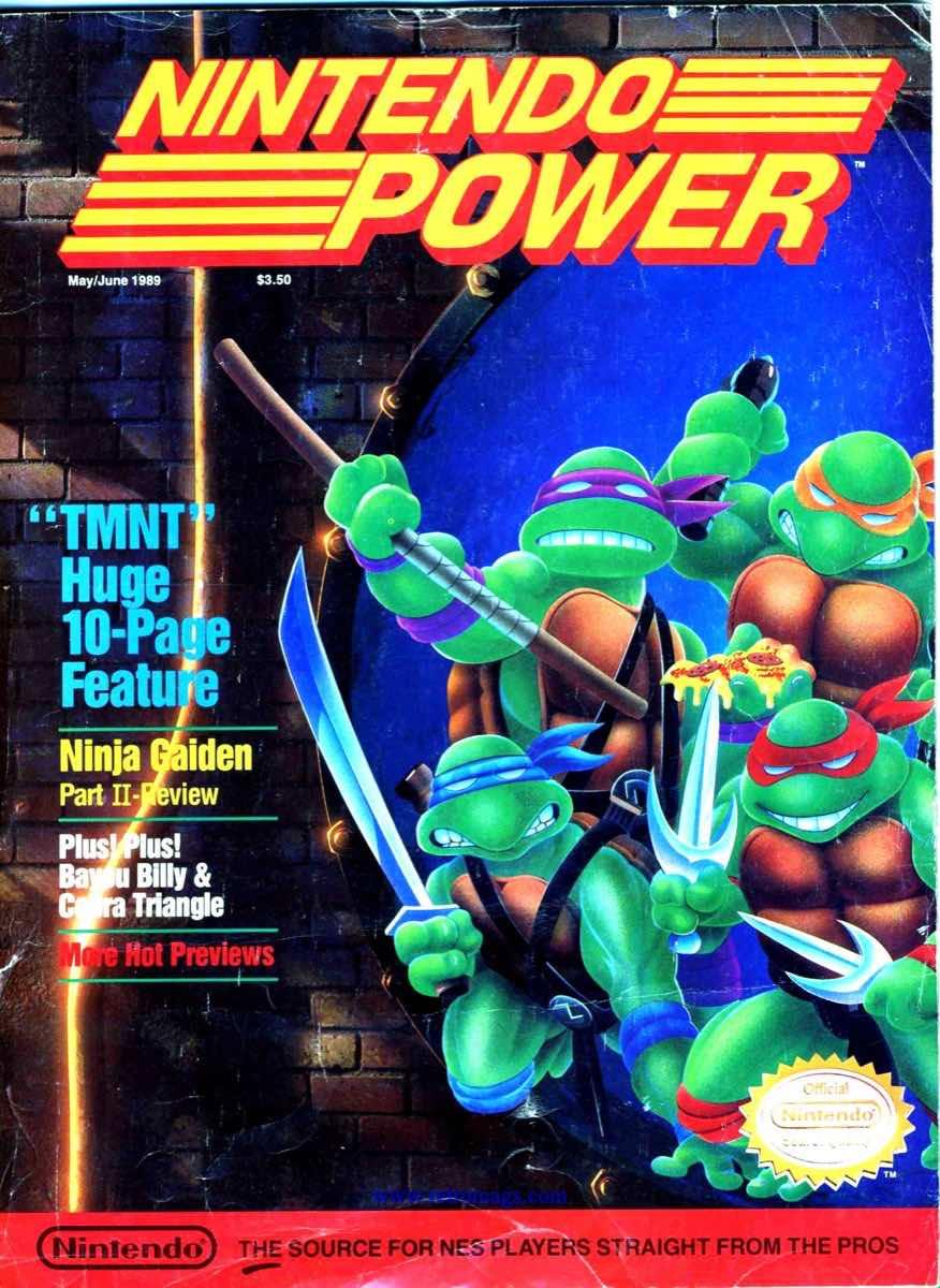 Nintendo Power | May June 1989 p1