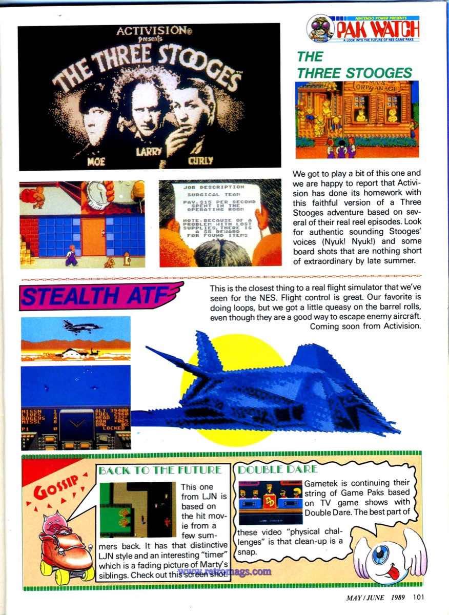Nintendo Power | May June 1989 p101