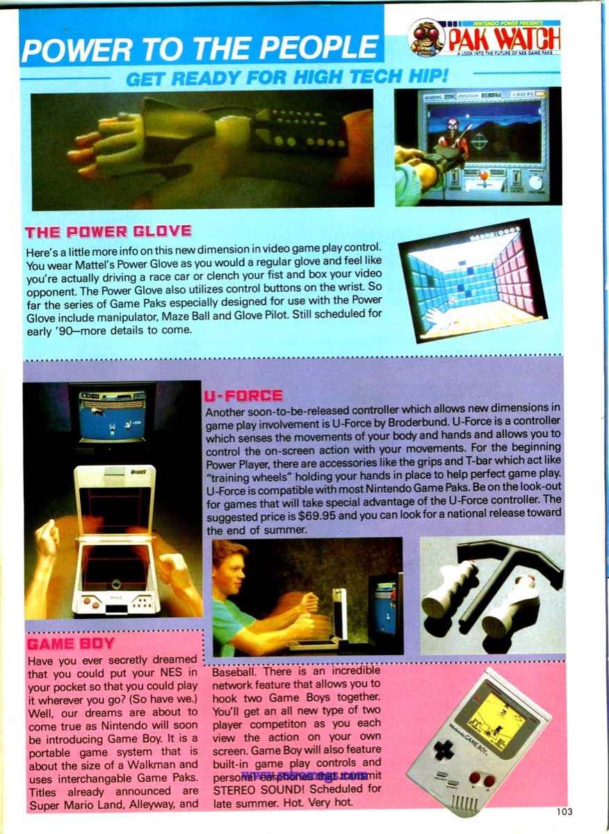 Nintendo Power   May June 1989 p103