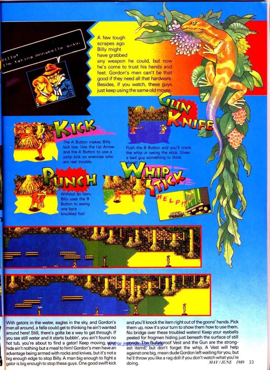 Nintendo Power   May June 1989 p23
