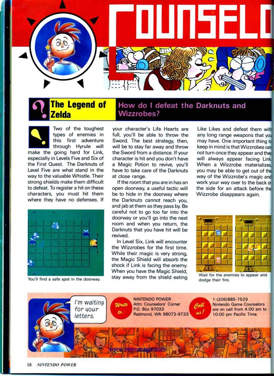 Nintendo Power   May June 1989 p58