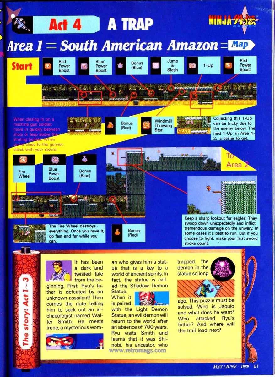 Nintendo Power | May June 1989 p61
