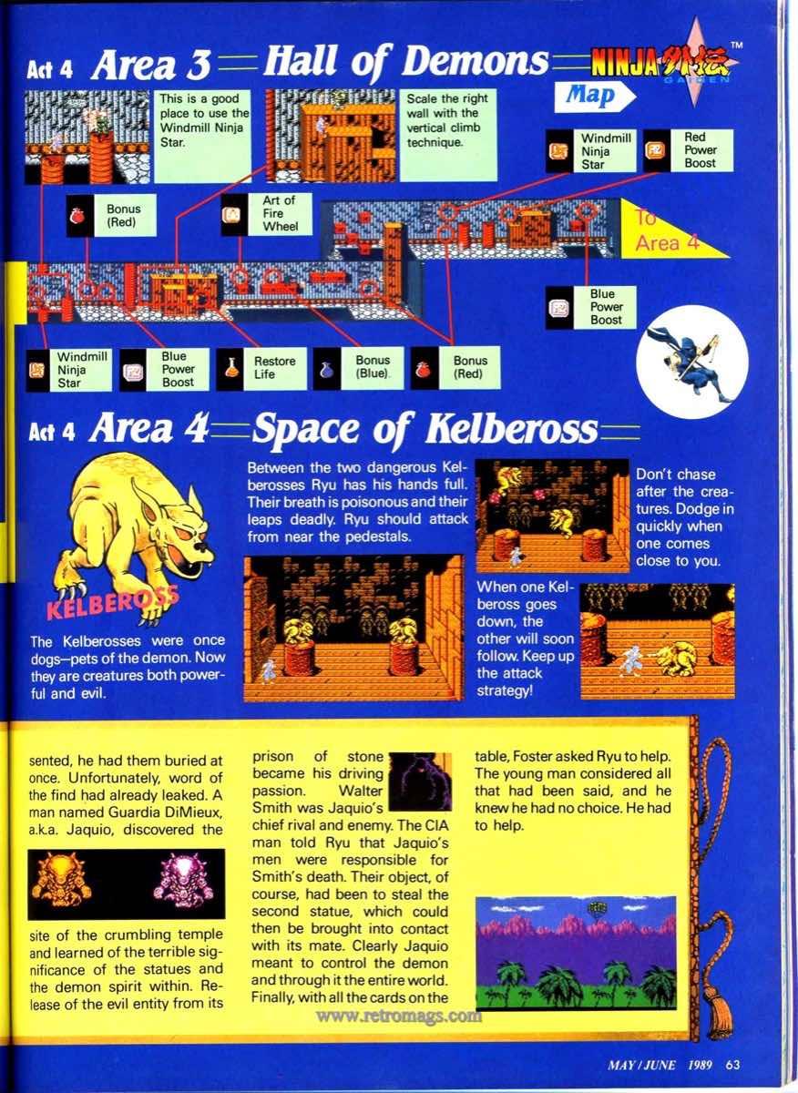 Nintendo Power | May June 1989 p63
