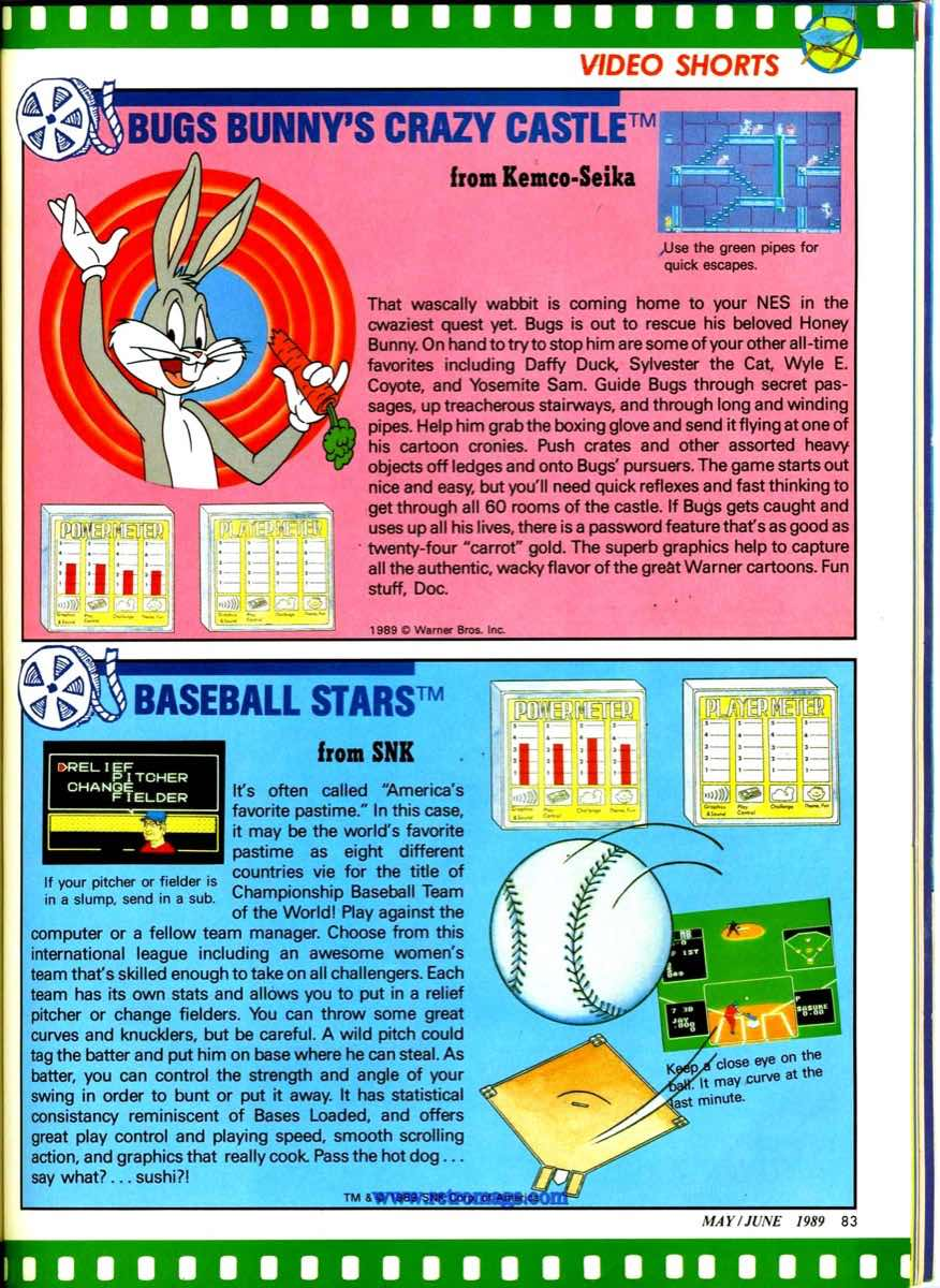 Nintendo Power | May June 1989 p83