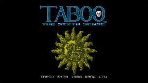 Taboo: The Sixth Sense (NES) Game Hub