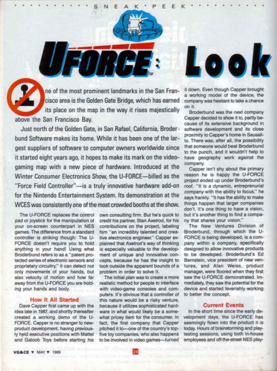 VGCE | May 1989 p24