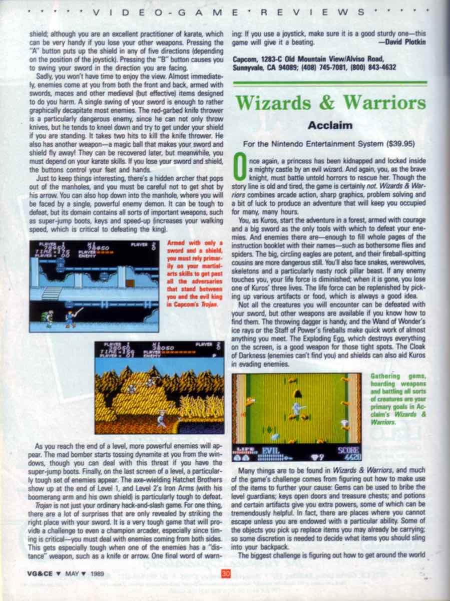 VGCE | May 1989 p30
