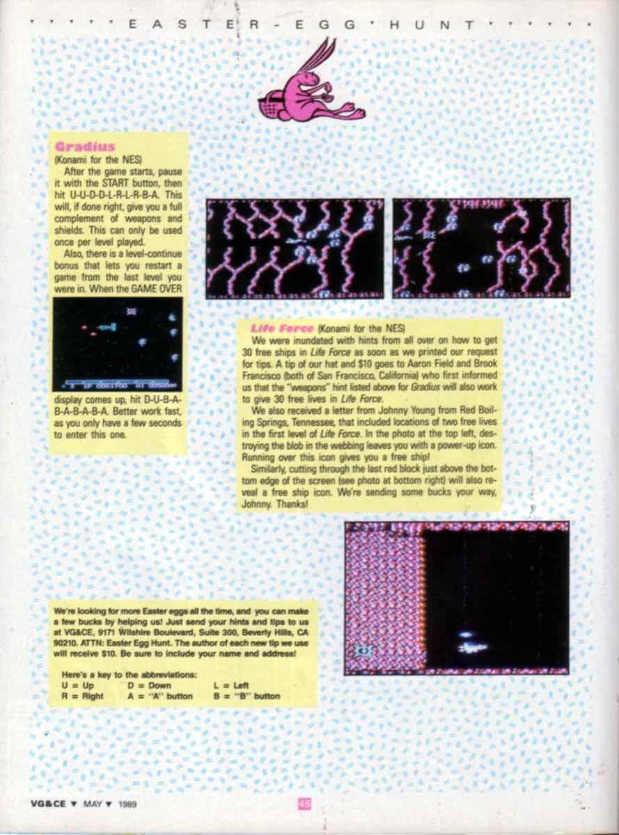 VGCE | May 1989 p48