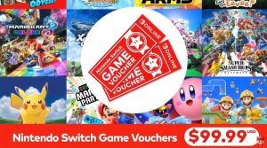 Nintendo Switch Online Game Vouchers