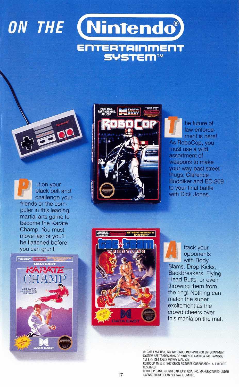 Summer CES 1989 | Data East NES Brochure-2