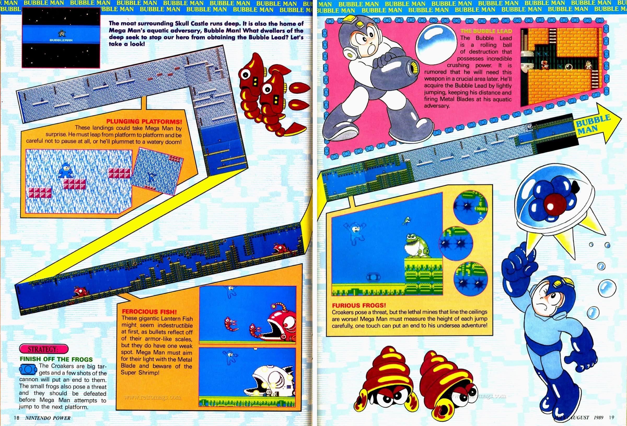 Nintendo Power | July August 1989 p18-19