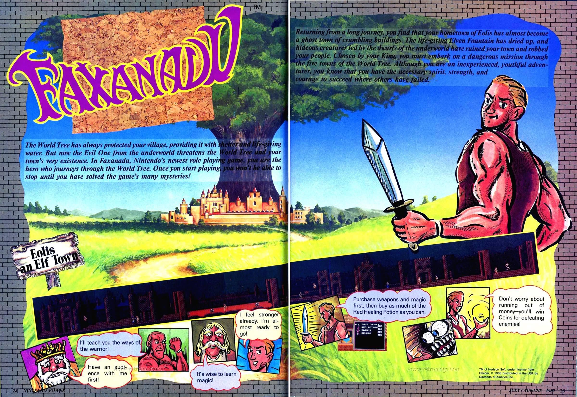 Nintendo Power | July August 1989 p24-25