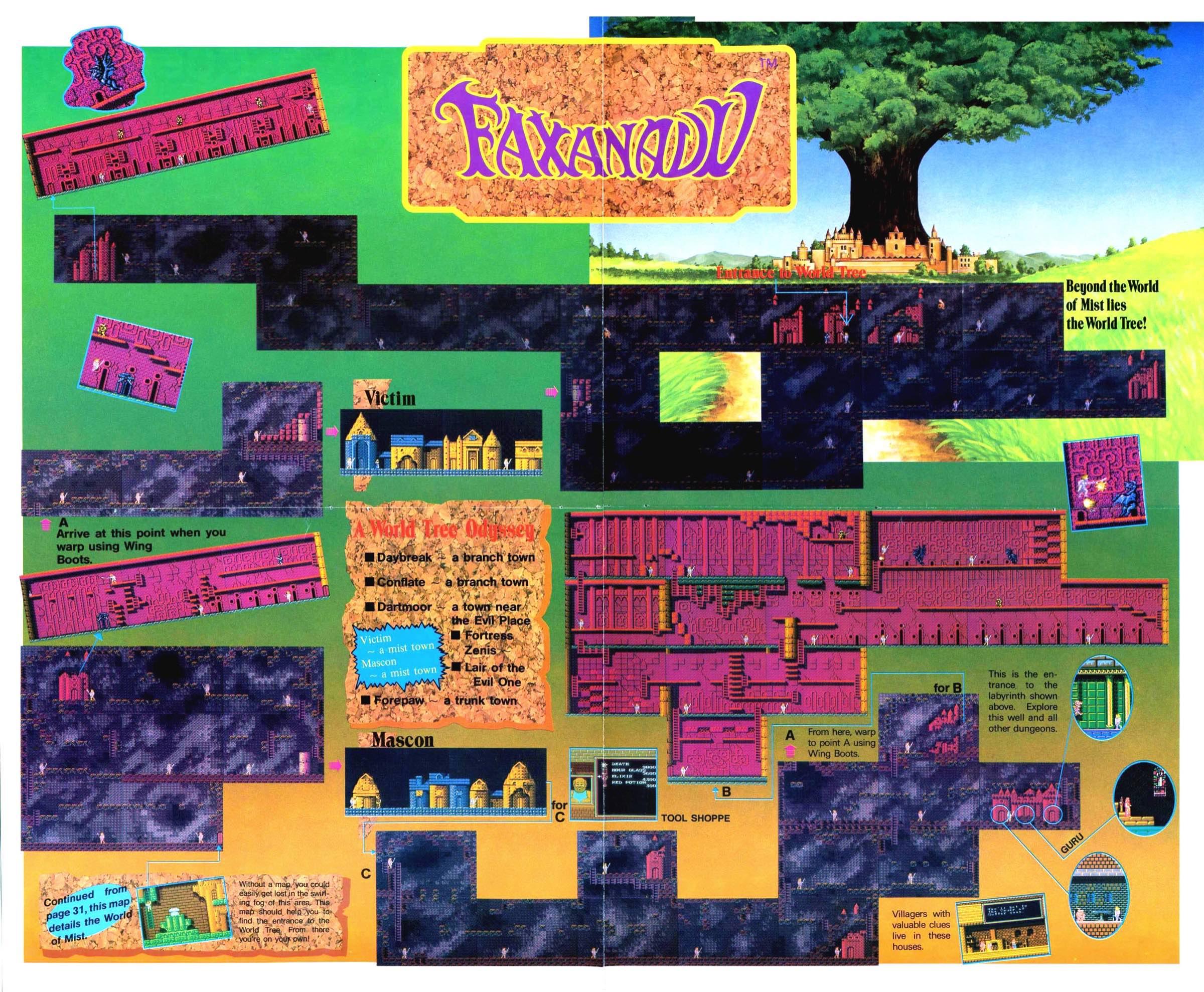 Nintendo Power | July August 1989 p30-31a