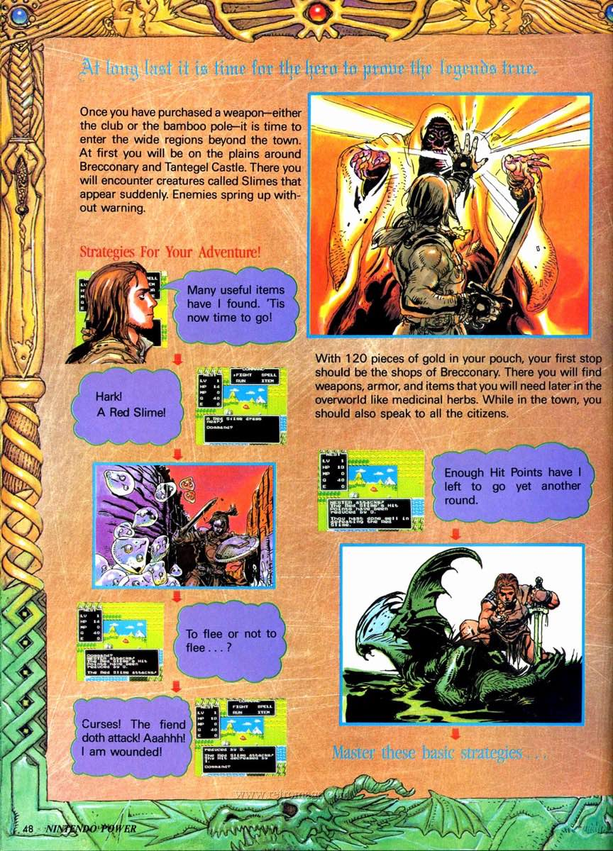 Nintendo Power | July August 1989 p48