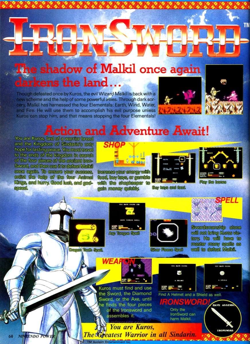 Nintendo Power | July August 1989 p68