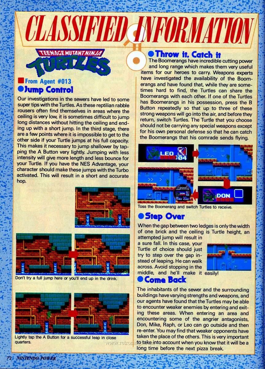 Nintendo Power | July August 1989 p72
