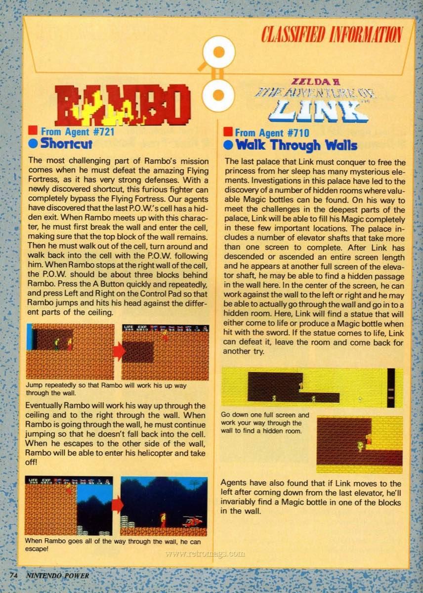Nintendo Power | July August 1989 p74
