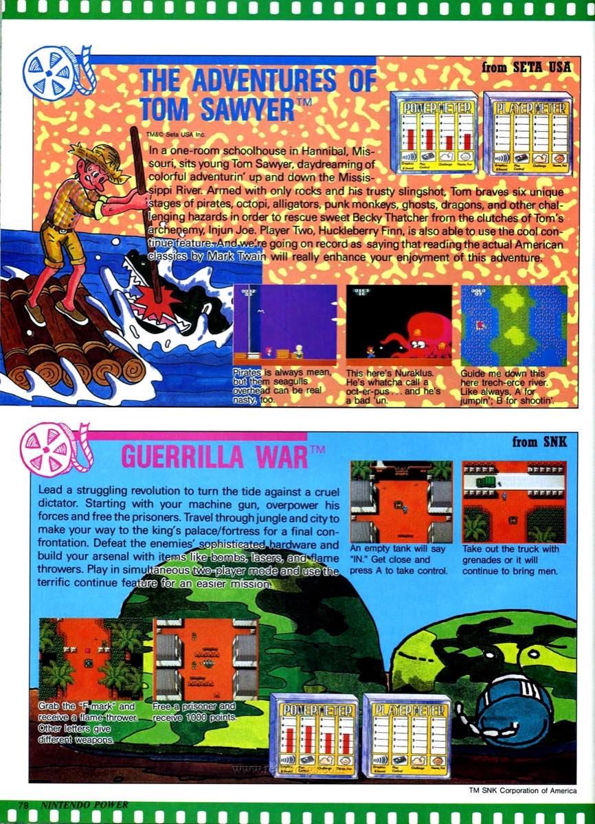 Nintendo Power | July August 1989 p78