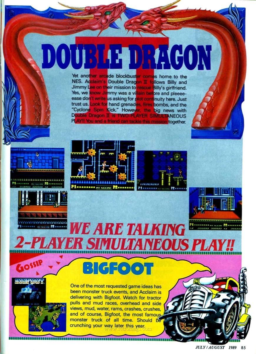 Nintendo Power | July August 1989 p85