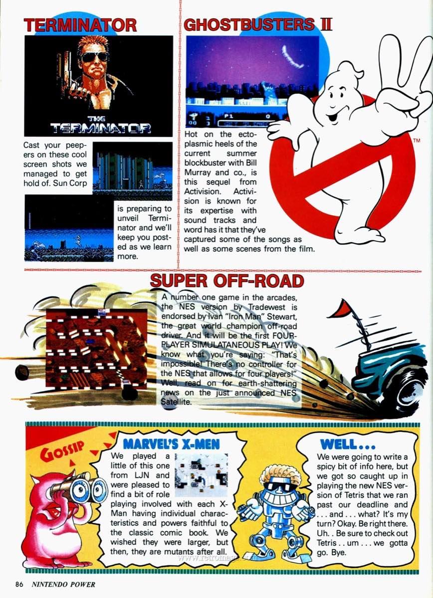 Nintendo Power | July August 1989 p86