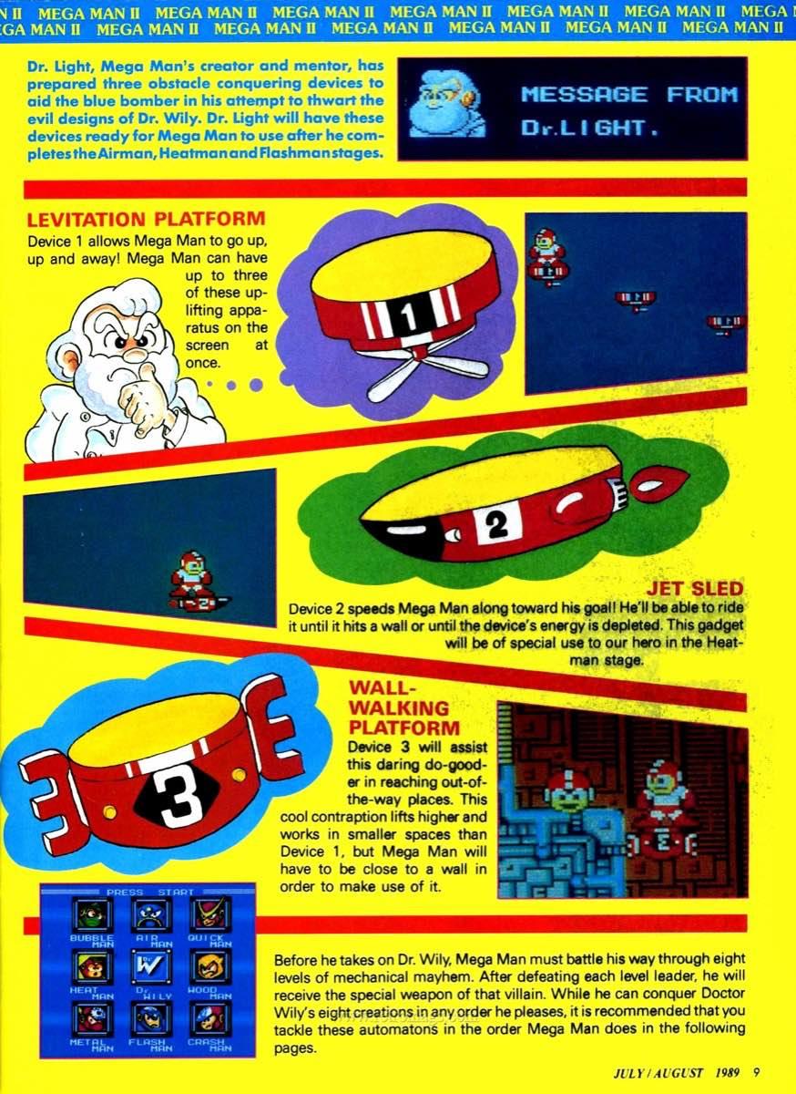 Nintendo Power | July August 1989 p9