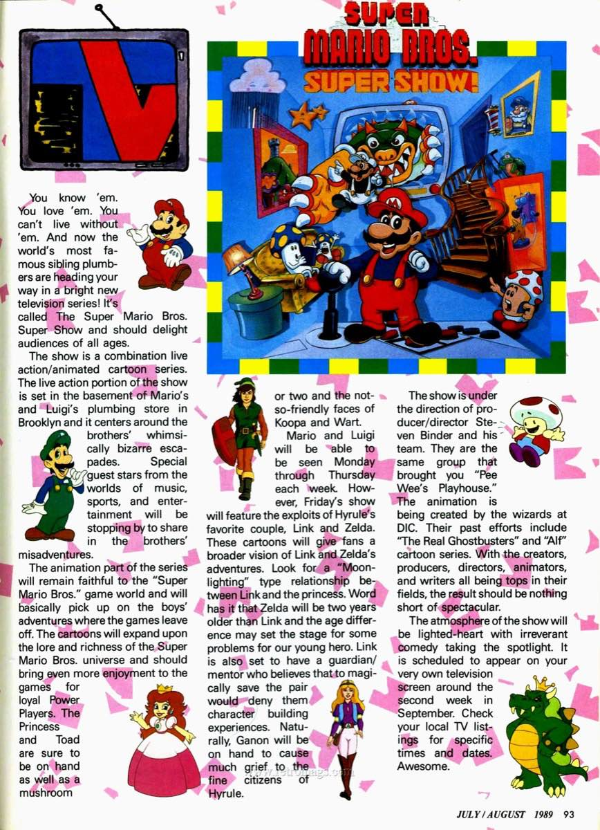 Nintendo Power | July August 1989 p93